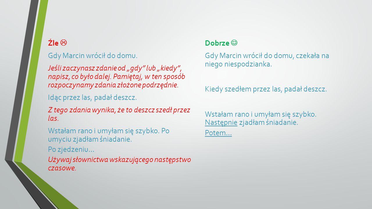 4.Bogate słownictwo.
