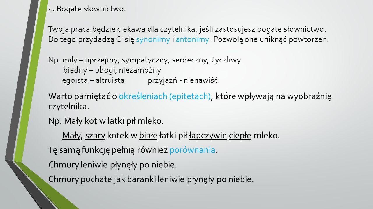 Przykład… Krynica Morska, 18 lipca 2014r.Kochana Babciu.