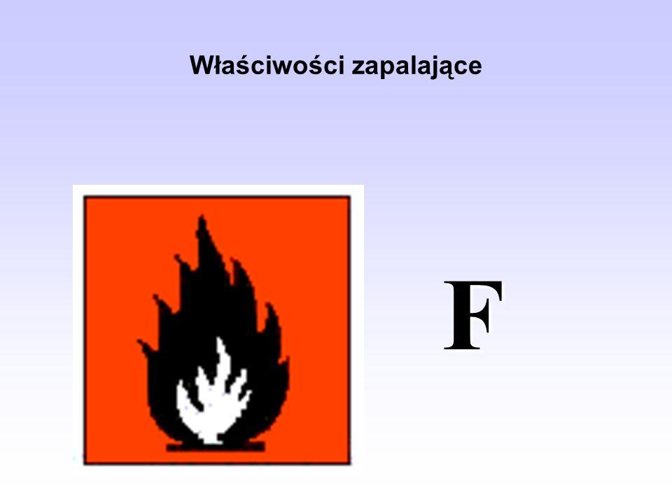Właściwości zapalające F