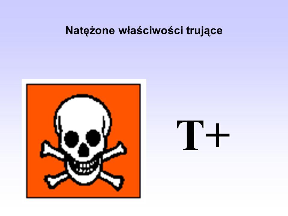 Natężone właściwości trujące T+