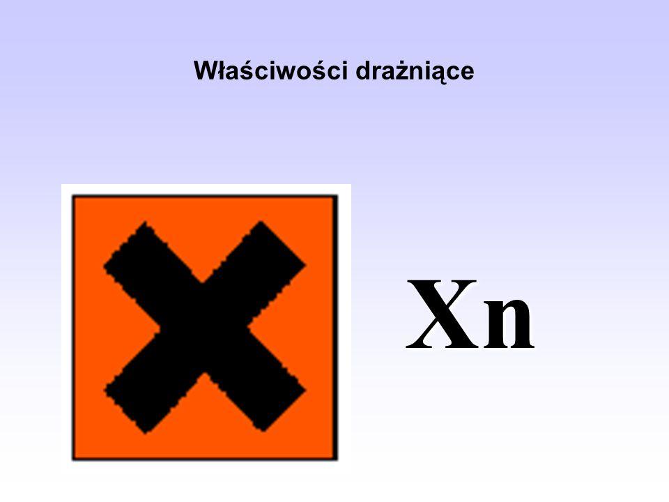 Właściwości drażniące Xn