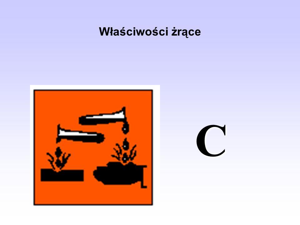 Właściwości żrące C