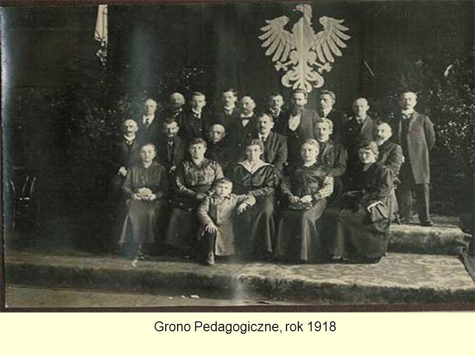 Grono Pedagogiczne, rok 1918