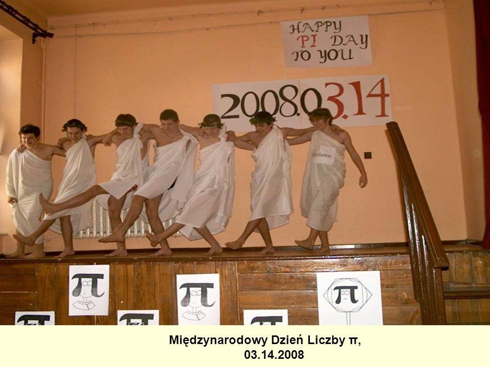 Międzynarodowy Dzień Liczby π, 03.14.2008
