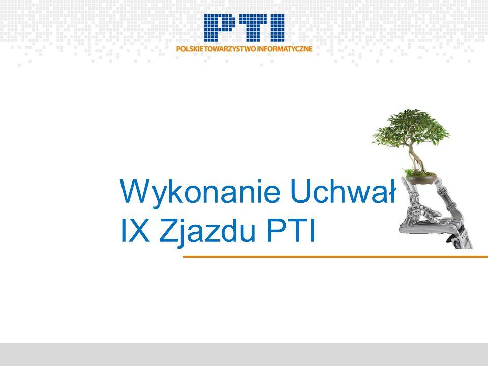 Wykonanie Uchwał IX Zjazdu PTI