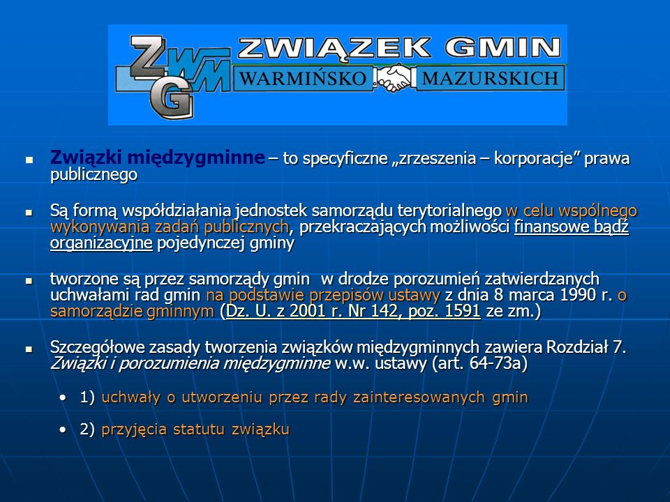 Zgromadzenie Związku Gmin Warmińsko-Mazurskich Zgromadzenie Związku Gmin Warmińsko-Mazurskich Komisja Budżetowa 3 os.