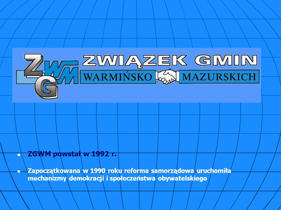 ZGWM powstał w 1992 r.