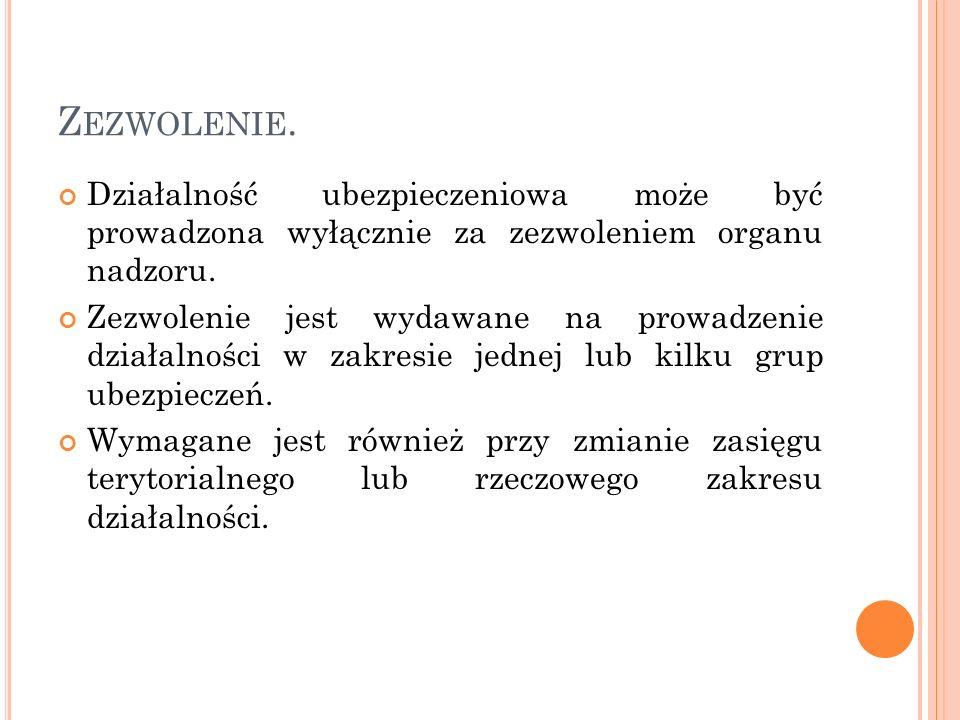 C ZYNNOŚCI UBEZPIECZENIOWE.8.