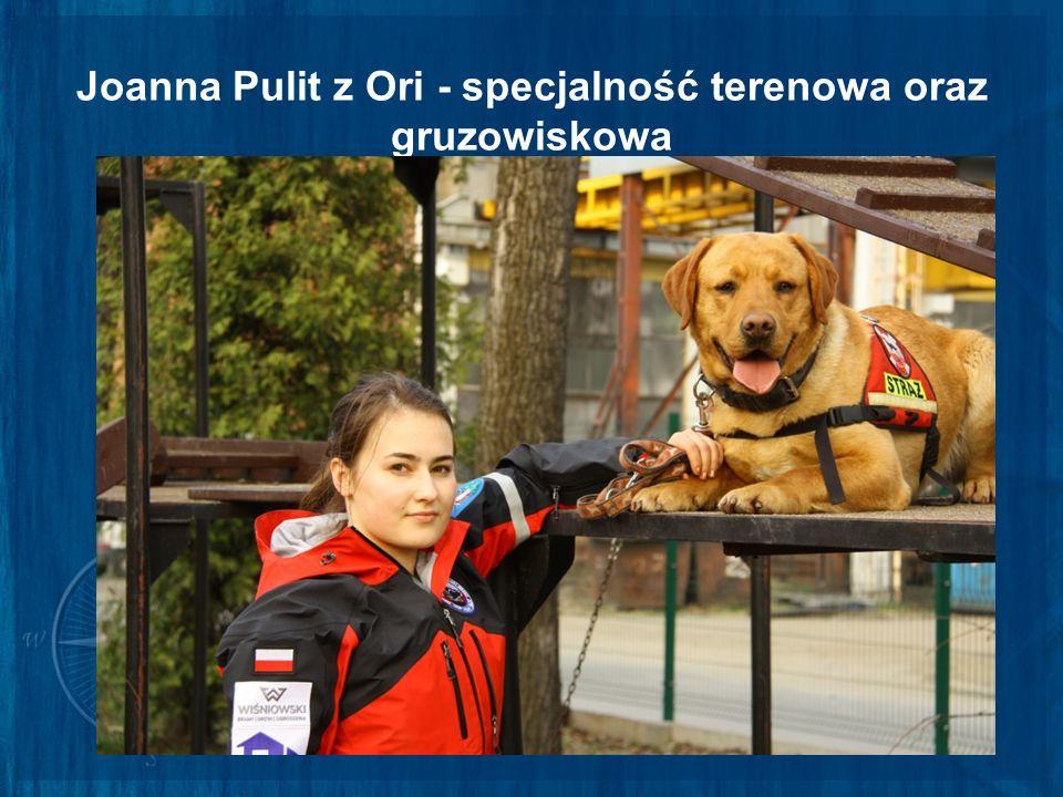 Joanna Pulit z Ori - specjalność terenowa oraz gruzowiskowa
