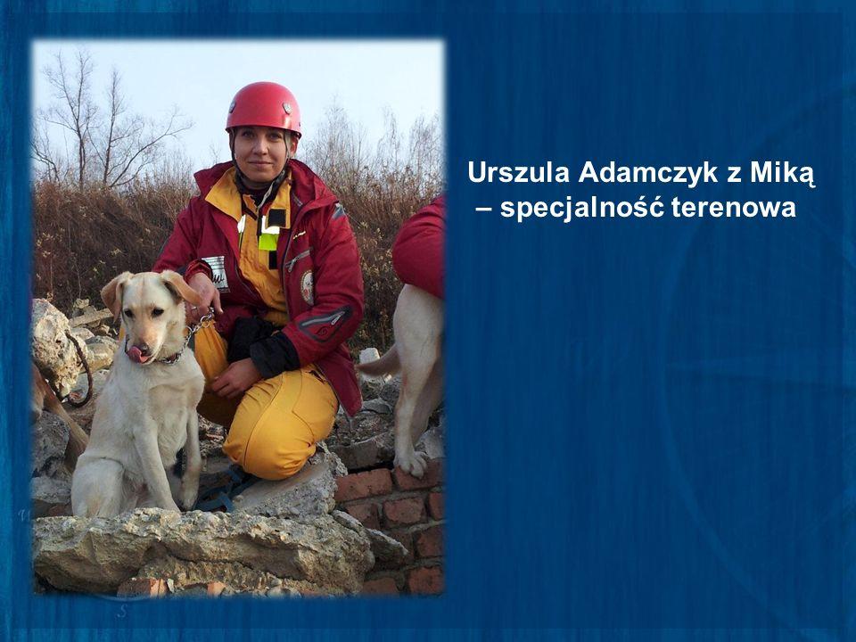 Urszula Adamczyk z Miką – specjalność terenowa