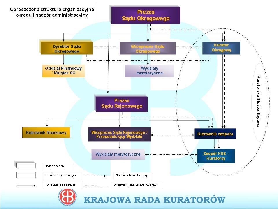 Struktura obciążenia kuratora zawodowego rodzinnego Struktura obciążenia kuratora zawodowego rodzinnego (średnia na 1 etat/miesięcznie)