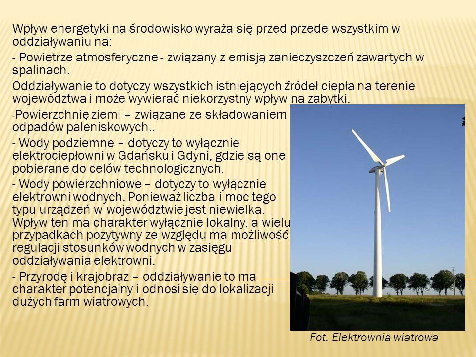 Oddziaływania na pozostałe komponenty środowiska takie jak: obszary szczególnie wrażliwe, obszary Natura 2000 nie występują ponieważ urządzenia energetyki cieplnej są immanentnie związane z terenami zainwestowanymi, a lokalizacja urządzeń elektroenergetycznych i gazowych nie ma charakteru wymuszonego i mogą one być tak sytuowane, aby nie kolidowały z elementami środowiska wymagającymi szczególnej ochrony.
