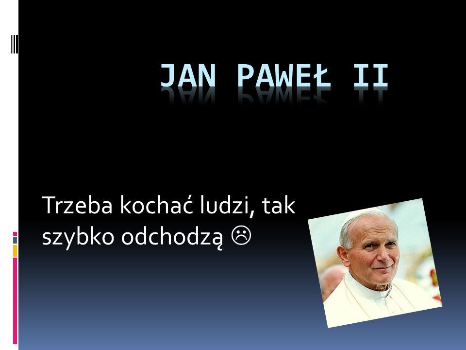 Jan Paweł II Karol Wojtyła urodził się w Wadowicach jako drugi syn Karola Wojtyły i Emilii z Kaczorowskich.