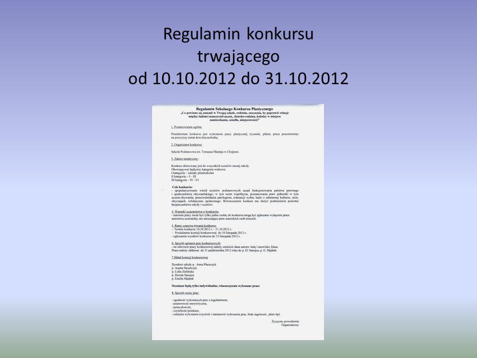 Protokół z konkursu 15.11.2012 r.