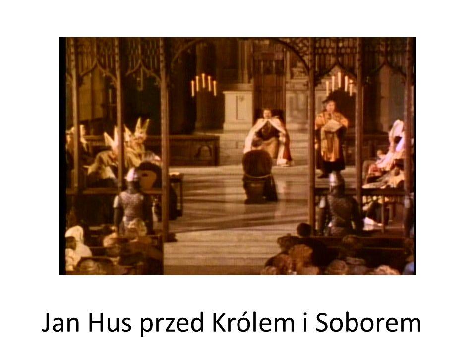 Jan Hus przed Królem i Soborem