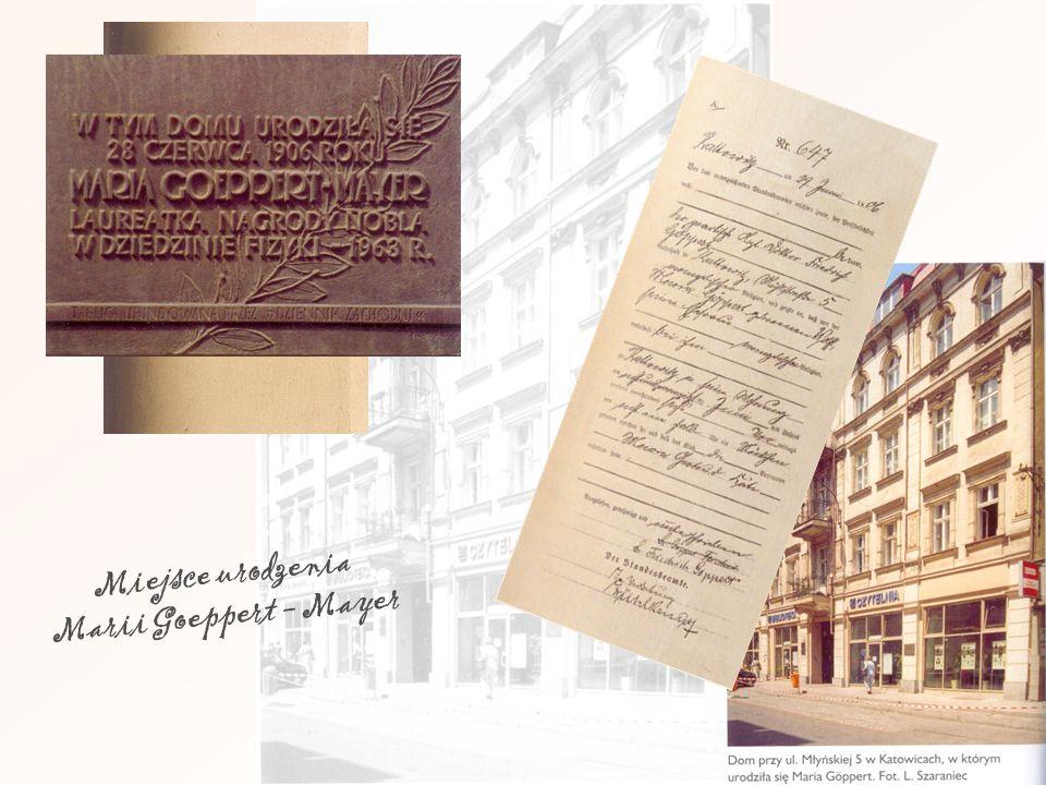 Miejsce urodzenia Marii Goeppert - Mayer