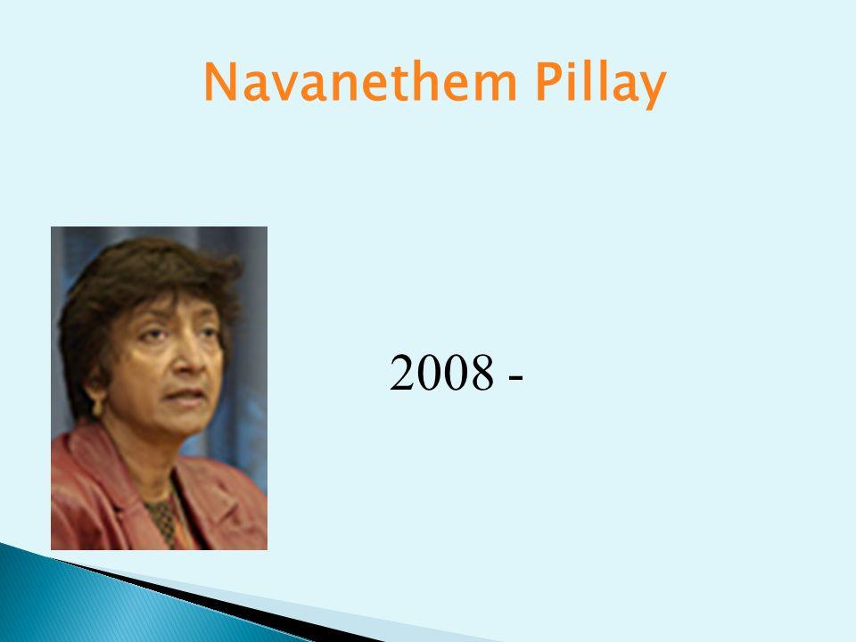 Navanethem Pillay 2008 -