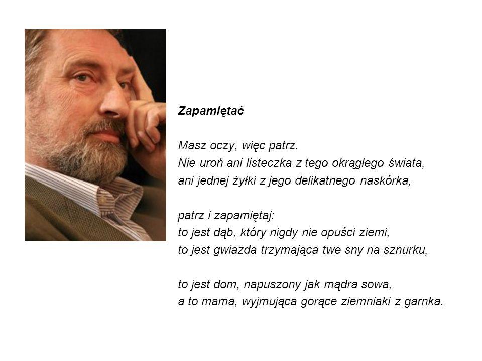 Adam Zagajewski (ur.21 czerwca 1945 we Lwowie) – polski poeta, eseista, prozaik, tłumacz.