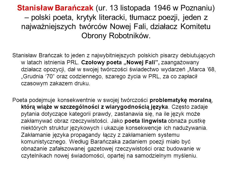 Stanisław Barańczak (ur.