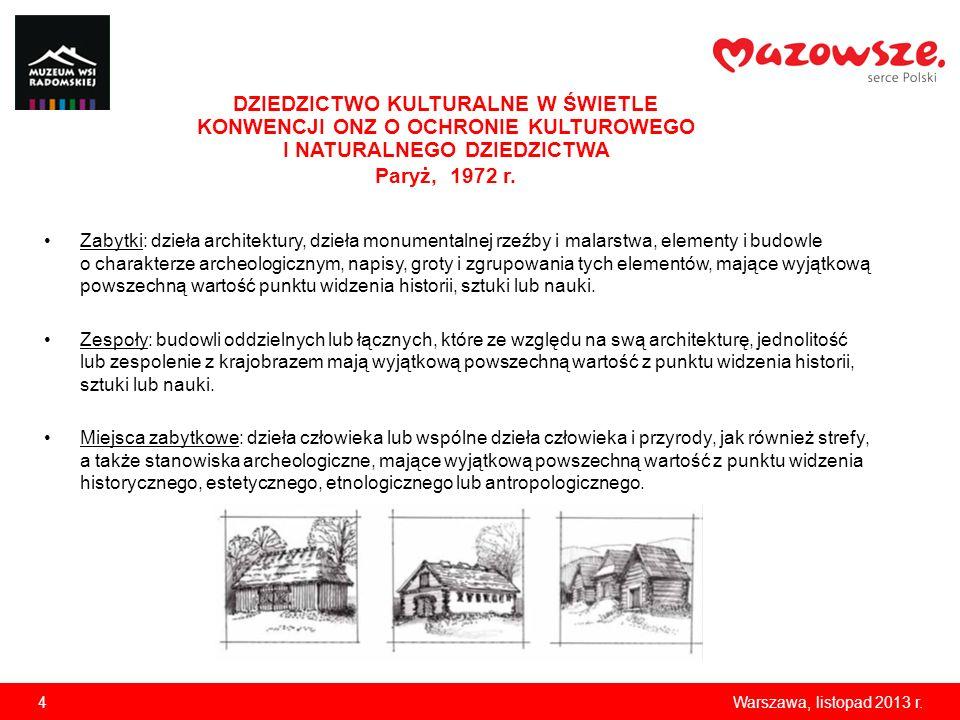 Zabytki: dzieła architektury, dzieła monumentalnej rzeźby i malarstwa, elementy i budowle o charakterze archeologicznym, napisy, groty i zgrupowania t