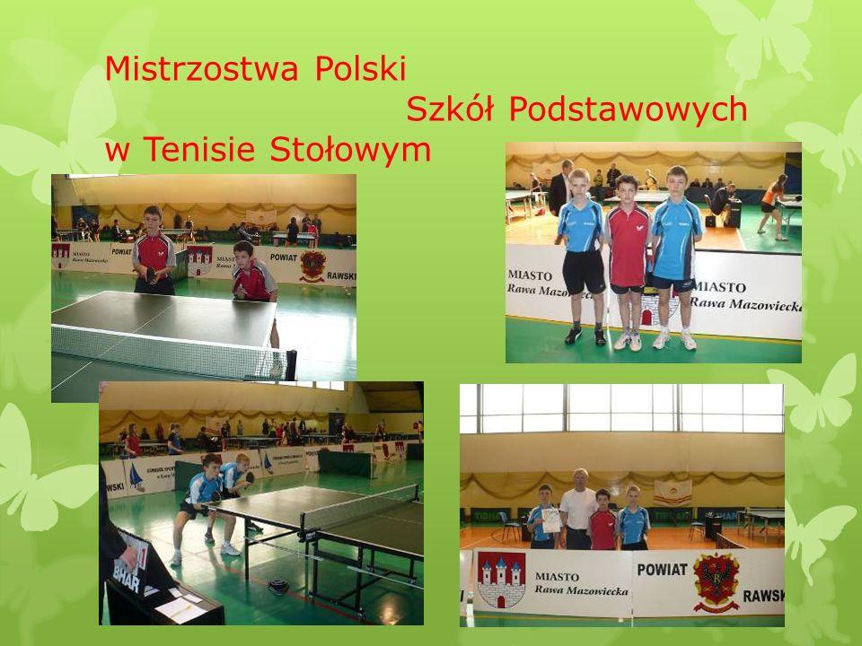 Mistrzostwa Polski Szkół Podstawowych w Tenisie Stołowym