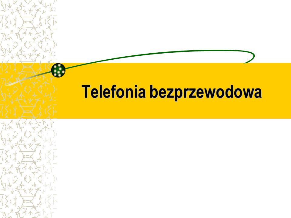 Telefonia bezprzewodowa Telefonia bezprzewodowa