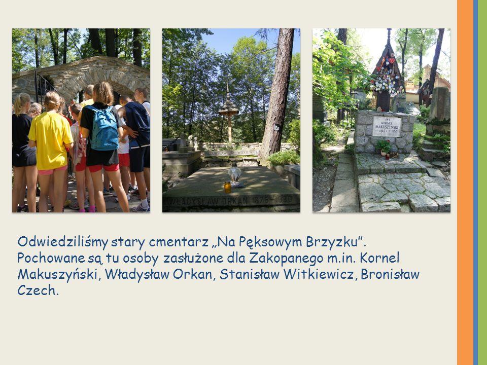 Odwiedziliśmy stary cmentarz Na Pęksowym Brzyzku.
