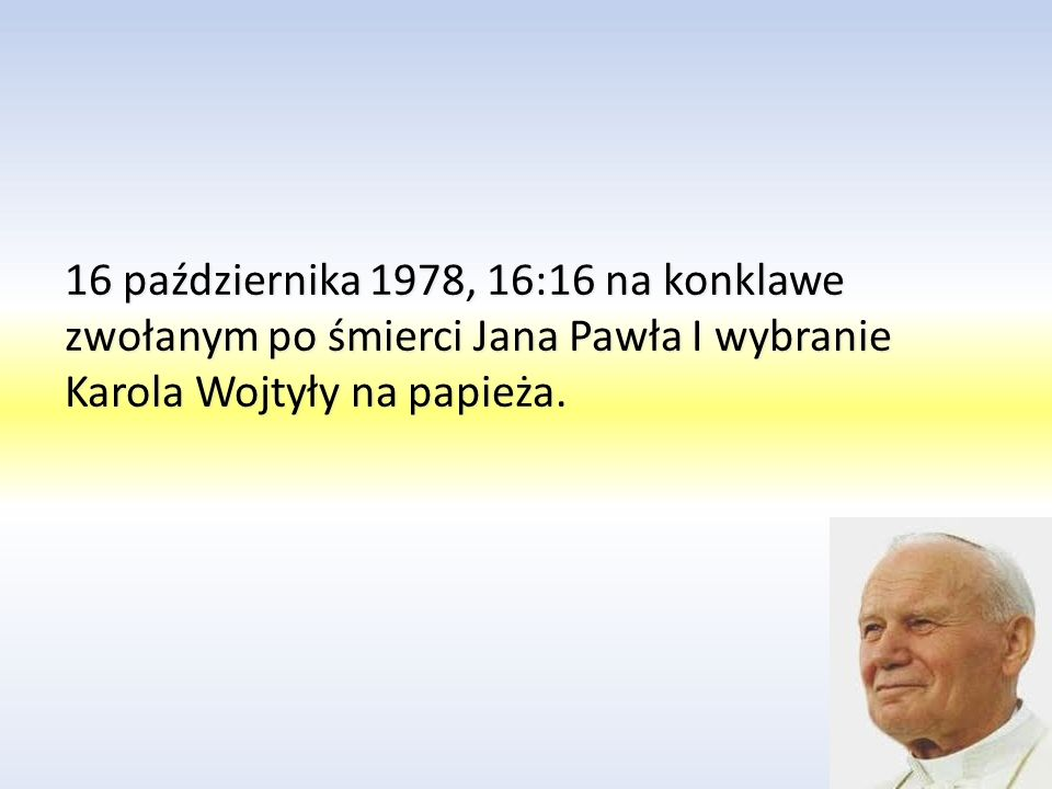 W 1958 roku ks. Karol Wojtyła został mianowany na biskupem tytularnym Ombrii oraz na biskupa pomocniczego Krakowa. 28 września 1958 w katedrze na Wawe