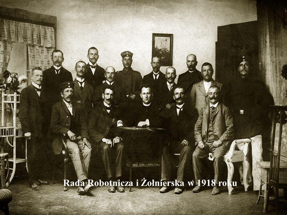 Rada Robotnicza i Żołnierska w 1918 roku