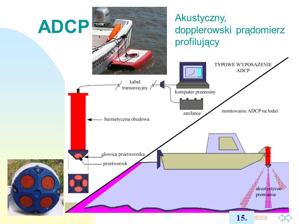 Pierwsza strona ADCP - diagramy 16.