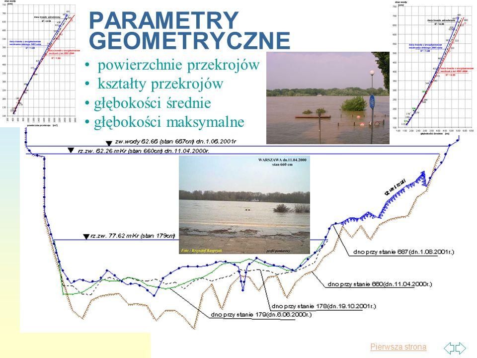 Pierwsza strona Pomiary rumowiska rzecznego, materiału unoszonego Transportem rumowiska rzecznego nazywamy proces poruszania cząstek rumowiska przez płynącą wodę i przenoszenia w dół rzeki.