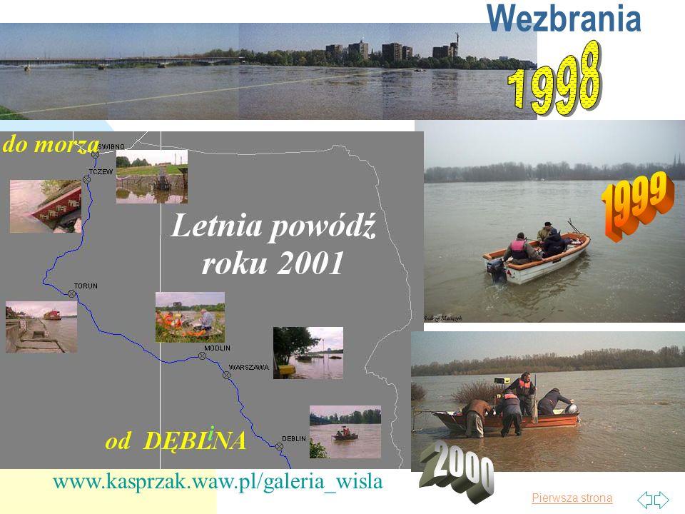 Pierwsza strona Powódź w Czechach W prasie i TV trwają dyskusje dlaczego, kto temu winien, co dalej robić itp.