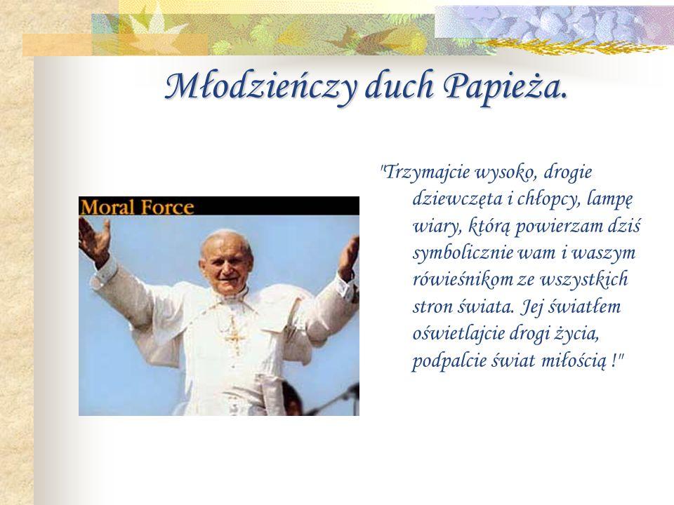 Pielgrzymki papieża...