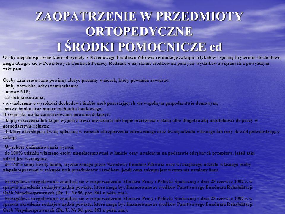 TU MOŻES SZUKAĆ POMOCY NFZ Kujawsko- Pomorski Oddział Wojewódzki NFZ 85- 071 Bydgoszcz, Al.