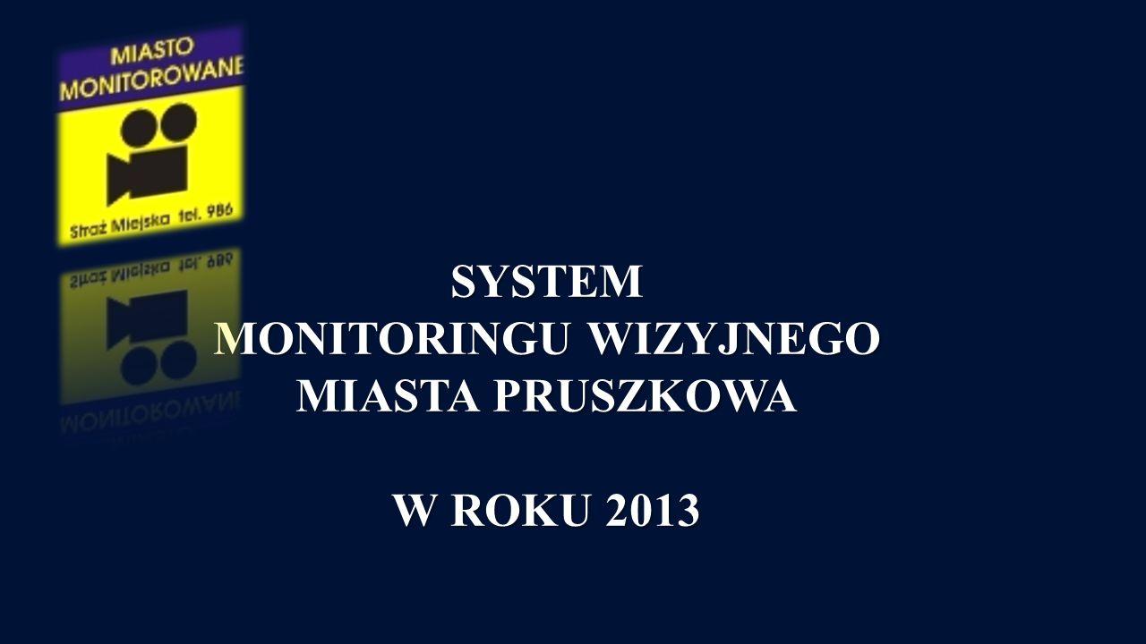 SYSTEM MONITORINGU WIZYJNEGO MIASTA PRUSZKOWA W ROKU 2013