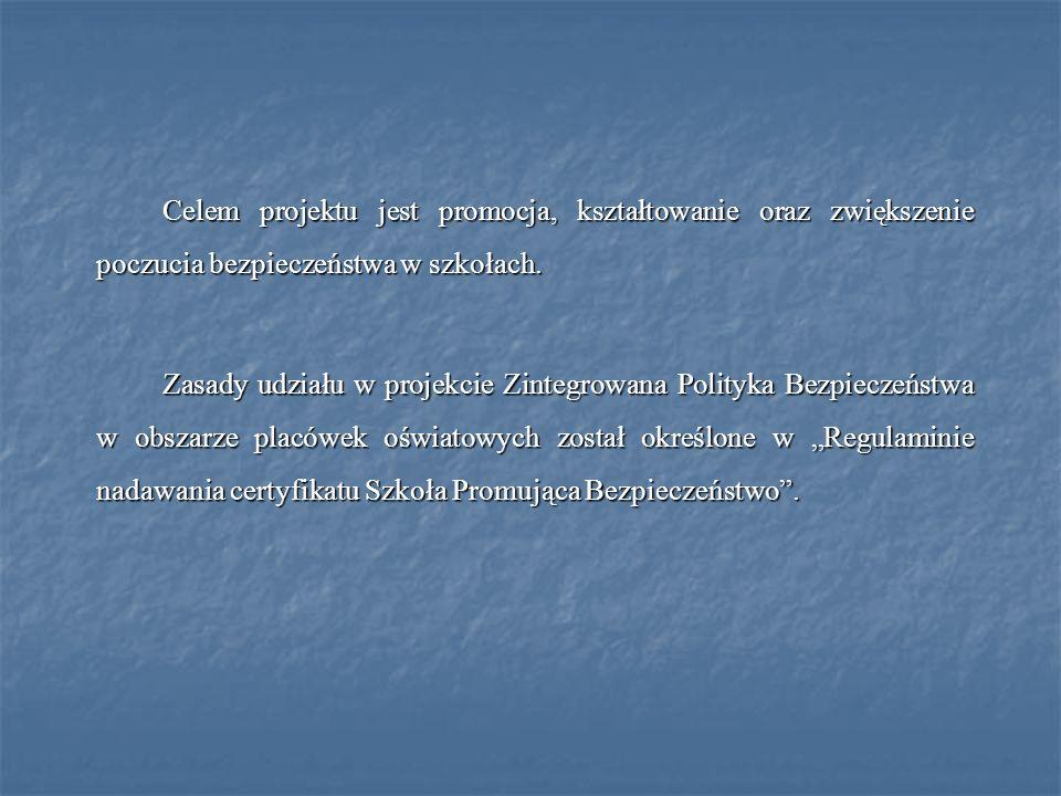 I.Przystąpienie do projektu ZPB - Szkoła Promująca Bezpieczeństwo 1.