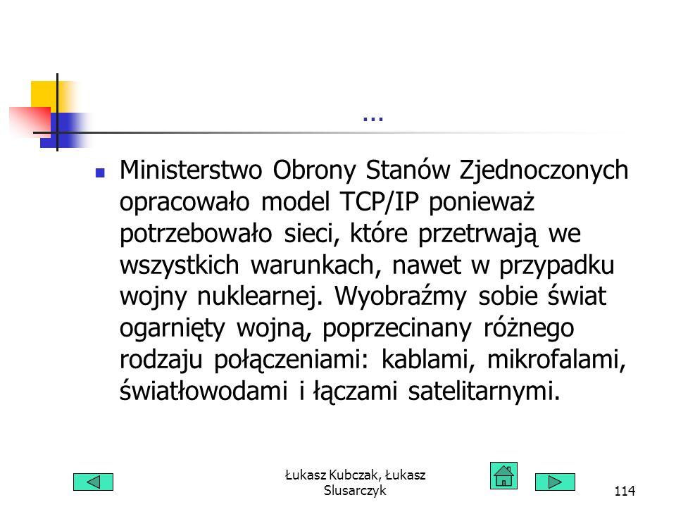 Łukasz Kubczak, Łukasz Slusarczyk114...