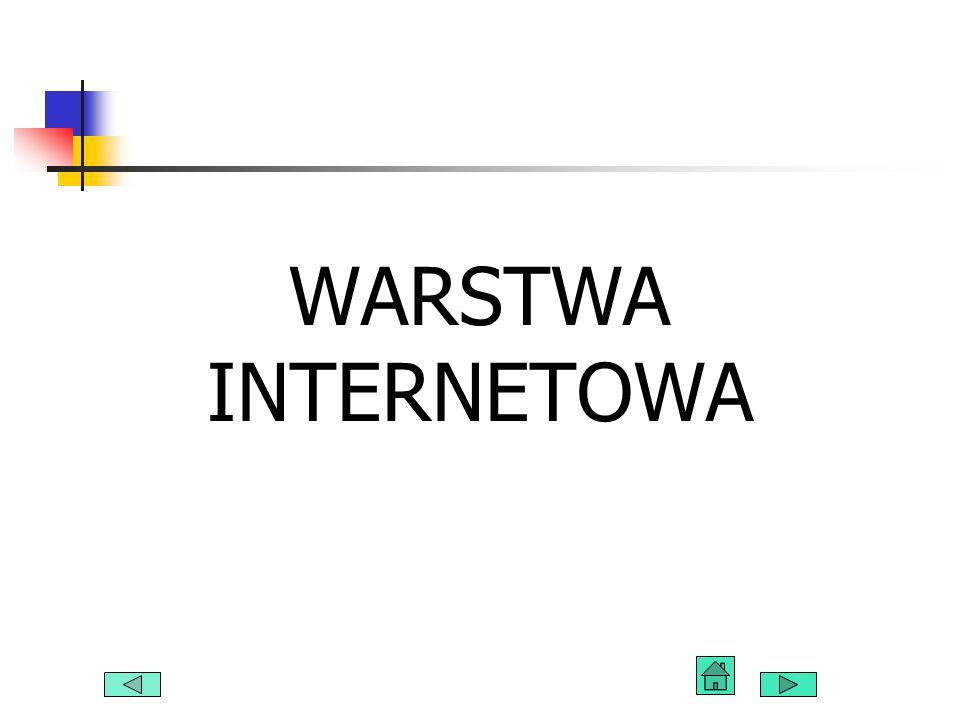 WARSTWA INTERNETOWA