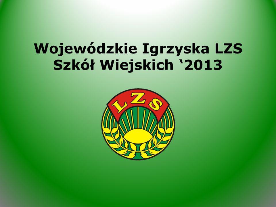 Wojewódzkie Igrzyska LZS Szkół Wiejskich 2013