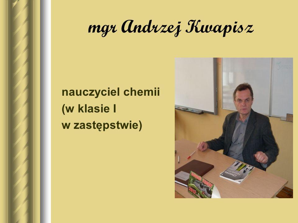 mgr Zuzanna Kacała nauczycielka języka niemieckiego, edukacji dla bezpieczeństwa
