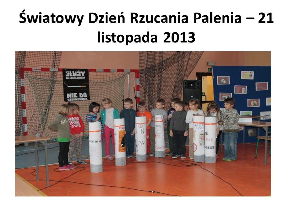 Konkursy szkolne Szkolny konkurs plastyczny realizowany w ramach programu Odblaskowa szkoła 1 miejsce Oliwia Kraj kl.