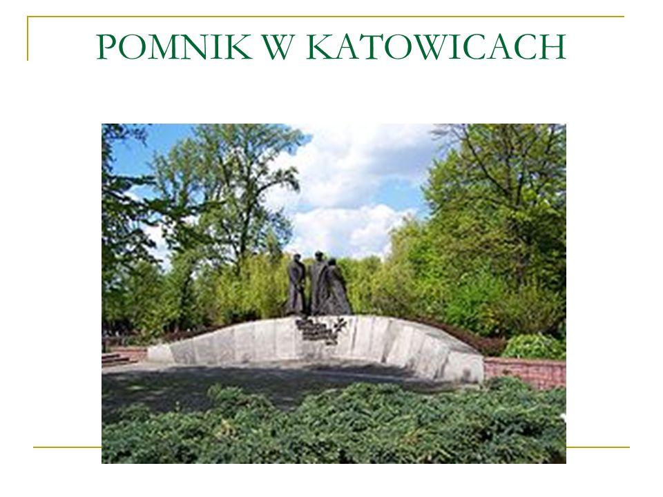 POMNIK W KATOWICACH