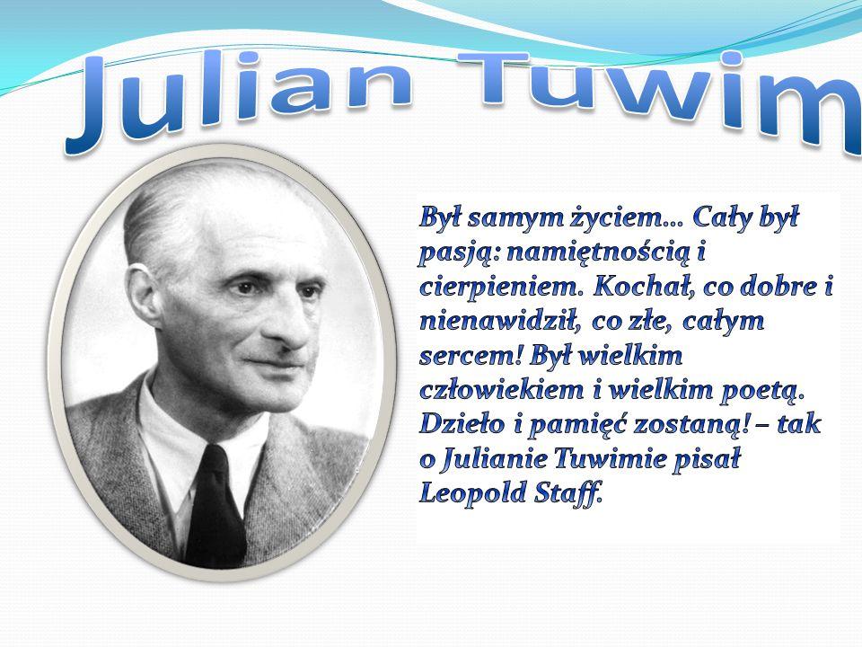 Julian Tuwim urodził się 13 września 1894 w Łodzi.
