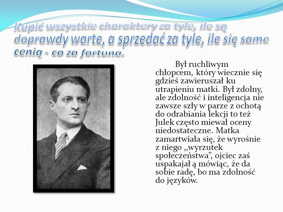 Szalony Julek, dusza towarzystwa, poeta – czarodziej i mag słowa zmarł w Zakopanem 27 grudnia 1953 roku.