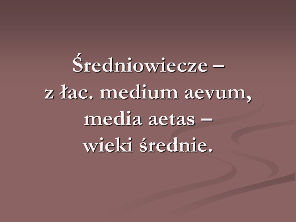 Mroki średniowiecza.