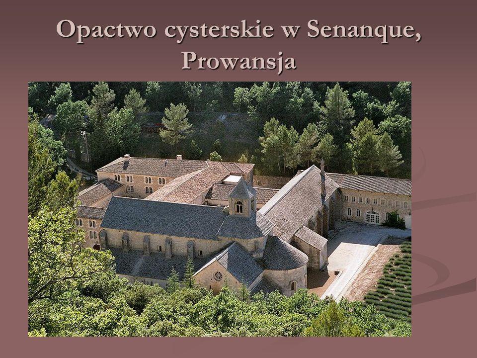 Opactwo cysterskie w Senanque, Prowansja