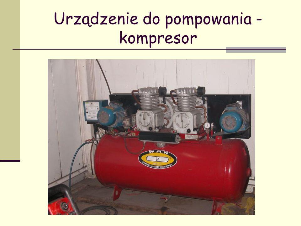 Urządzenie do pompowania - kompresor