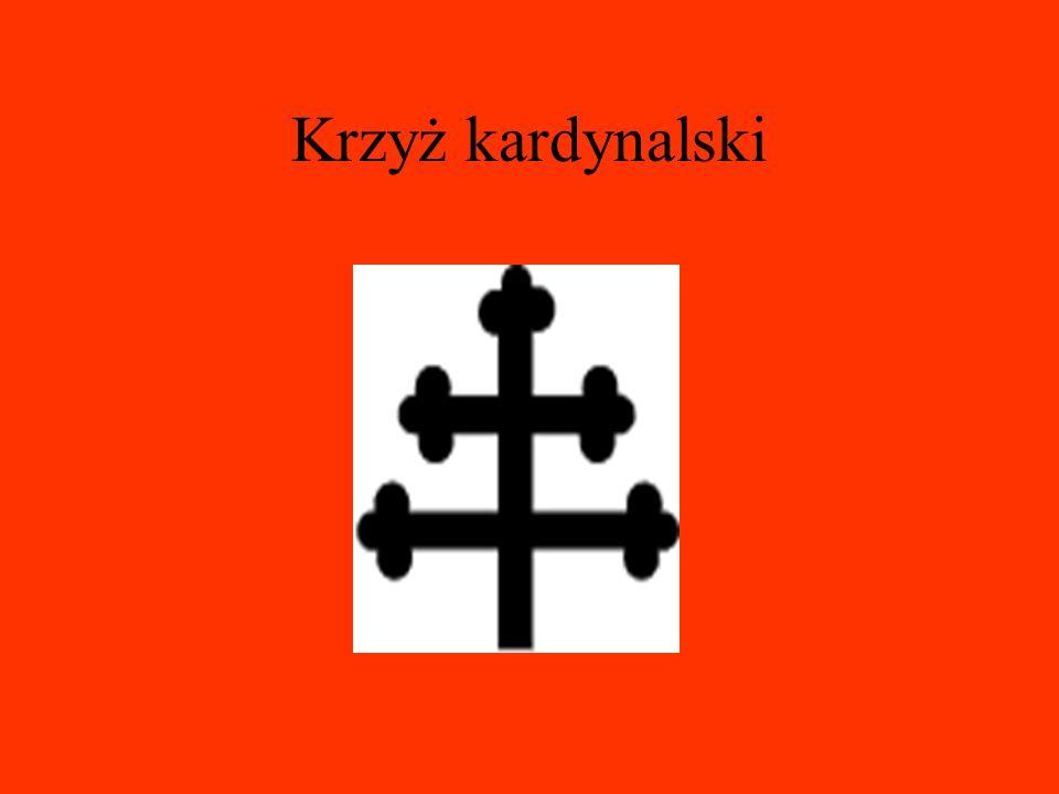 Krzyż patriarchalny - forma krzyża, którym posługiwali się patriarchowie wschodnich kościołów chrześcijańskich. Jego krótsza poprzeczna belka symboliz