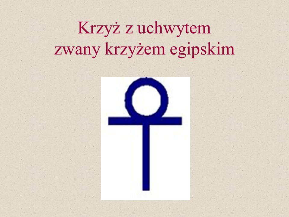 Krzyż kardynalski, o ramionach i wierzchołku zwieńczonych trójliściem. Jest on symbolem władzy natury duchowej. Krzyż kardynalski nazywany jest też kr