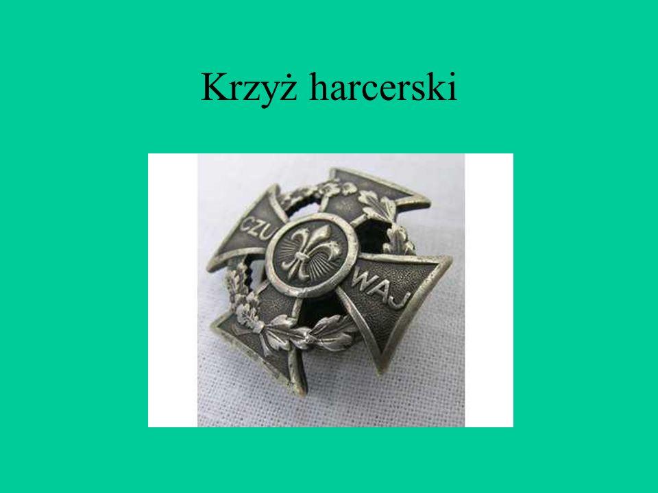 Krzyż ten jest znakiem rycerskiego zakonu joannitów, który zasłynął jako organizator pierwszych europejskich szpitali. Rozwidlenia na krzyżu oznaczają